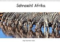 Sehnsucht Afrika - Faszinierende Tierwelt im suedlichen Afrika (Wandkalender 2022 DIN A3 quer): Begegnungen mit Afrikas Tierwelt (Monatskalender, 14 Seiten )
