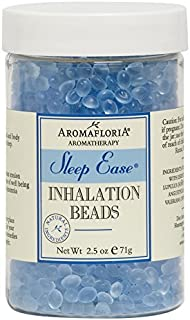 Aromafloria Aromatherapy Collection Inhalation Bead Sleep Ease Jar, Hops/Lavender/Valerian, 2.5 Ounce