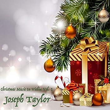 Christmas Music in Violin, Vol. 1