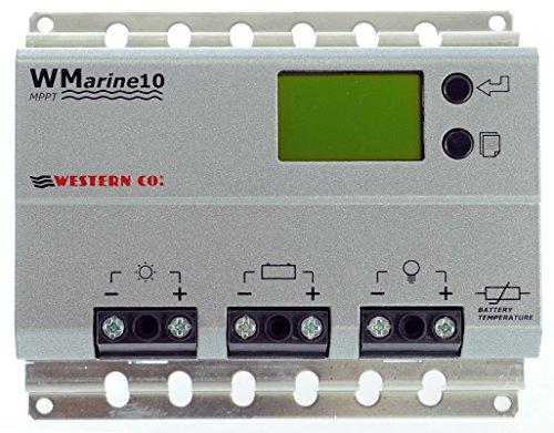Regolatore di Carica MPPT 10A Western Co. Fotovoltaico Camper Barca