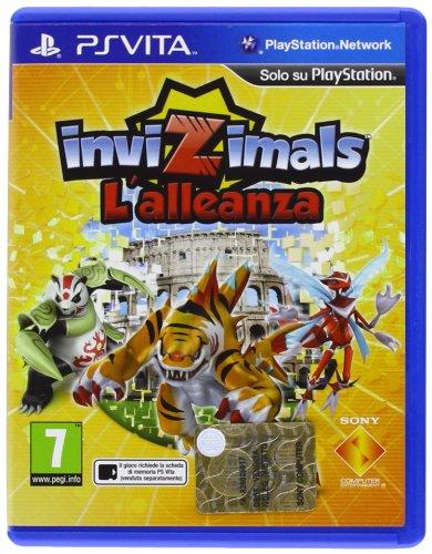 Sony Invizimals - Juego (PS Vita, PlayStation Vita, Acción / Aventura, ITA)