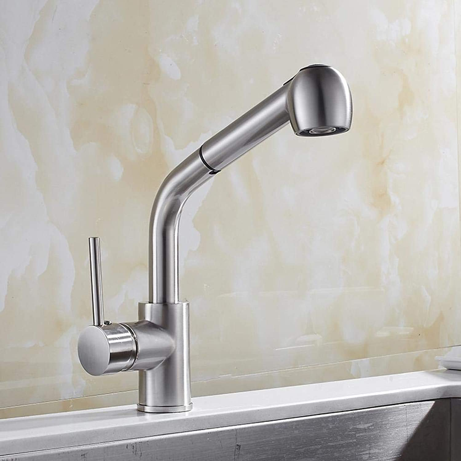 Lxj blueetooth headset Drawing kitchen pull-down faucet sink wash vegetable basin hot and cold faucet redatable