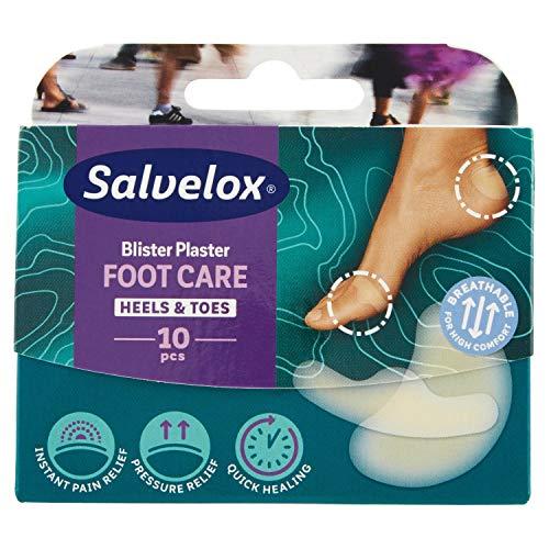 SALVELOX Foot Care Ampollas Dedos y Talón 10 unidades