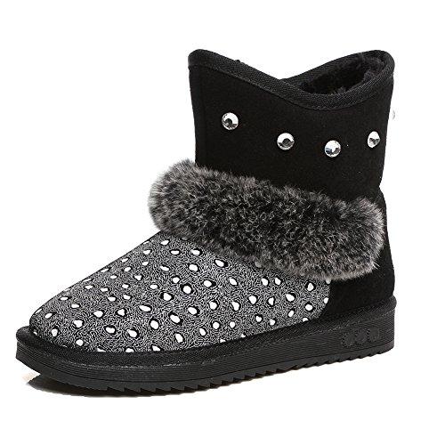 Rebecca Minkoff Chaussure Femme Sneakers 0HMDNA01 Michell Studs Nappa White High - Blanc, Cuir, 41, 8, 11