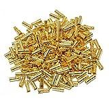 Foxnovo 20 Pares de 3,5 mm Chapado en Oro Bala Banana Conector Macho para Hembra para RC batería ESC Motor
