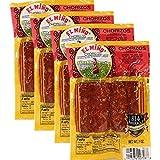 Chorizos El Miño . 4 chorizos per pack 7 oz....
