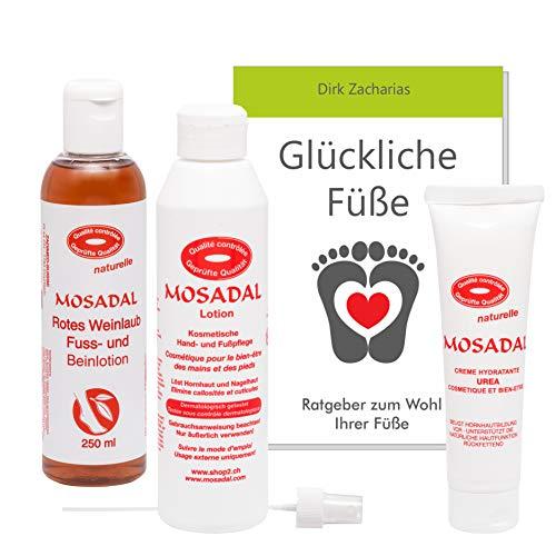 Mosadal® Hornhautentferner Lucky feet Fusspflege Set