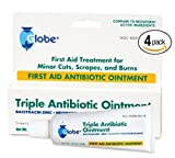 Best Antibiotic Ointments - Triple Antibiotic First Aid Ointment (4 Pack) Review