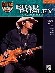Guitar Play-Along Volume 117: Brad Paisley. Partitions, CD pour Guitare