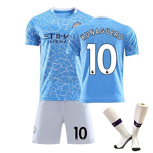 Personalisierte Fußball-Trikots Startseite Fußball-Hemd, 2020/2021 New T-Shirt, Shorts, Socken-Kits mit Name und Nummer Kinder/Erwachsene/Herren 10-160