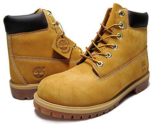 [ティンバーランド] ブーツ AND JUNIOR'S 6INCH BOOTWHEAT wheat/brn レディース ブーツ ティンバー ウォータープルーフ 撥水 24cm [並行輸入品]
