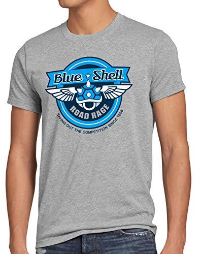style3 Blue Shell Kart Camiseta para...