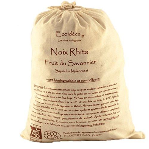 ECOIDEES - Noix de lavage bio - Sac coton de 1kg- (pour la quantité plus que 1 nous vous remboursons le port supplémentaire)