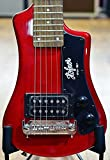 Hofner CT Series Shorty Mini Electric Guitar; Red