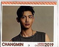 韓国 K-POP☆東方神起 チャンミン☆ 2019年カレンダー ミニ 壁掛けカレンダー LOVELY CALENDAR