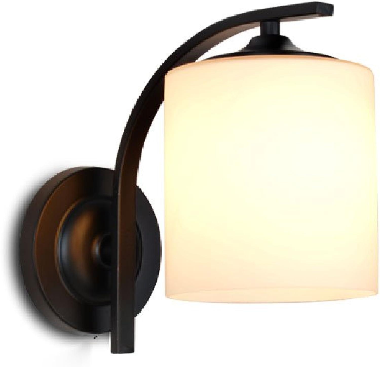 Amerikanische Landwandlampe einfache Schlafzimmergangflur-Wandlampe Retro- nordische dekorative Wandlampe. (Farbe   A)