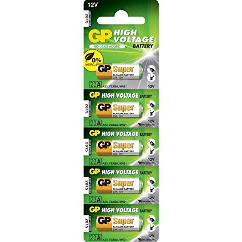 GP 23A batterij 12 Volt - 5 stuks