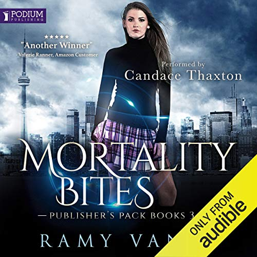 Mortality Bites: Publisher's Pack 2 audiobook cover art