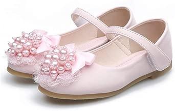 Acelits Gril's Leather T-Strap Oxford Flats Mary Jane School Uniform Shoes Princess Wedding Party Dress Shoes