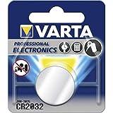 Model S: Varta CR2032 Lithium Knopfzelle, 1er Pack