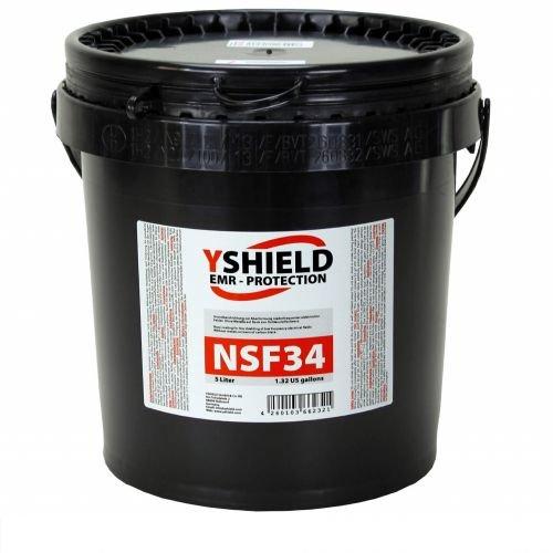 YSHIELD Low Frequency EMF Shielding Paint NSF34 5 Liter