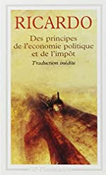 Des principes de l'economie politique et de l'impot - Édition anglaise de 1821 de David Ricardo