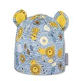 Sterntaler Baby-Jungen 1602171 Beanie-Mütze, gelb, 41