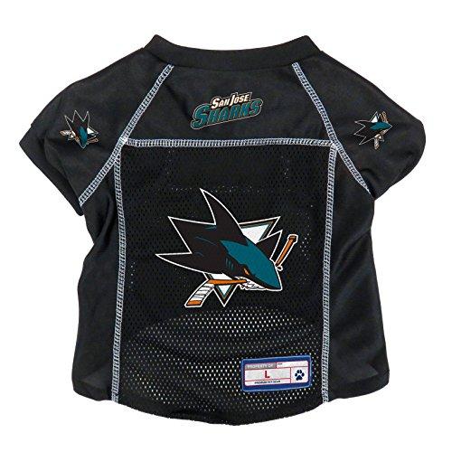NHL San Jose Sharks Pet Jersey, Small