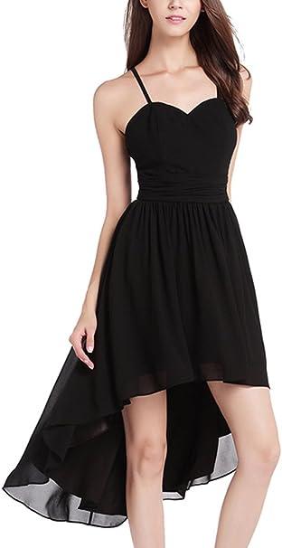 Hinten kurz kleid chiffon lang vorne Abiballkleid Abendkleid