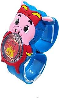 Orologio Bambino XYBB orologi per bambini cartone animato dinosauro animale orologio per bambini chiusura cerchio giocatto...