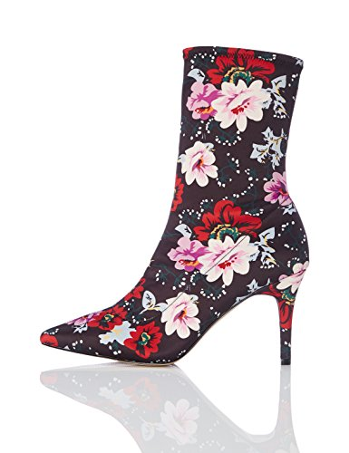 find. Botines Ajustados de Tacón Mujer, Rojo (Red), 39 EU (Zapatos)
