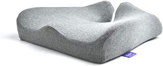 Cushion Lab Patented Pressure Relief Seat Cushion for Long Sitting Hours on Office & Home Chair