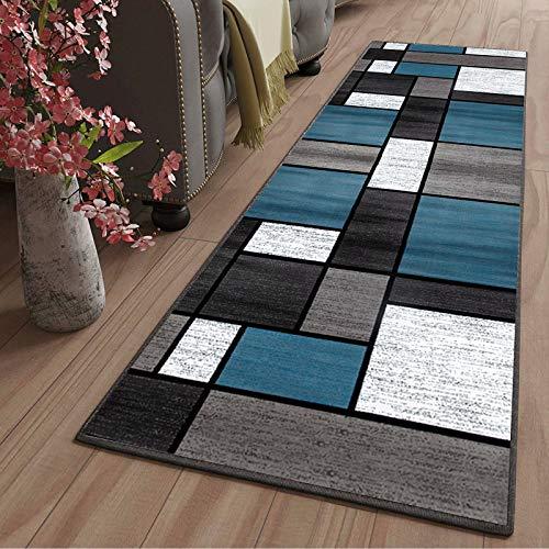 LYYK alfombras para Dormitorio Grande Lavables Antideslizante Antiestática Baratas Alfombra de Camino para Pasillo Cocina Sala de Estar Dormitorio, 120x180cm Color11