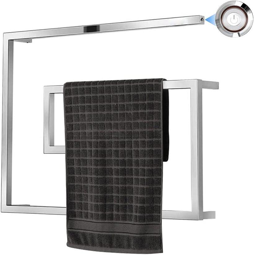 OJZZG Towel Warmer Heated Racks LED Under blast sales with Switch quality assurance 50W Wall