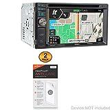 Jensen VX7020N Screen Protector, BoxWave [ClearTouch Anti-Glare (2-Pack)] Anti-Fingerprint Matte Film Skin for Jensen VX7020N