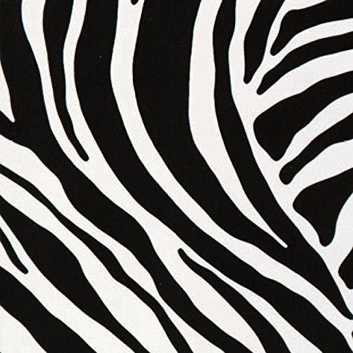 haga-wohnideen.de Klebefolie Dekorfolie Designfolie Folie Zebra 45cm breit (Meterware)