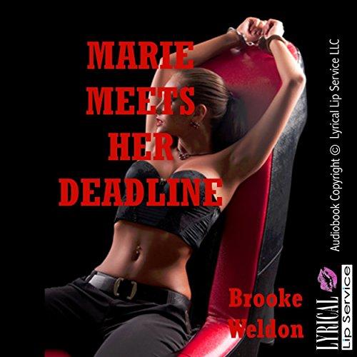 Marie Meets Her Deadline audiobook cover art