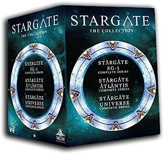 Stargate Collection - All Three Series Stargate Atlantis, Stargate SG-1, Stargate Universe
