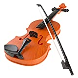 Hey! Play! Kid'S Toy Violin with 4 Adjustable Strings & Bow - Musical Sounds- Realistic-Looking Instrument for Learning Classical Music (80-HM-336840)