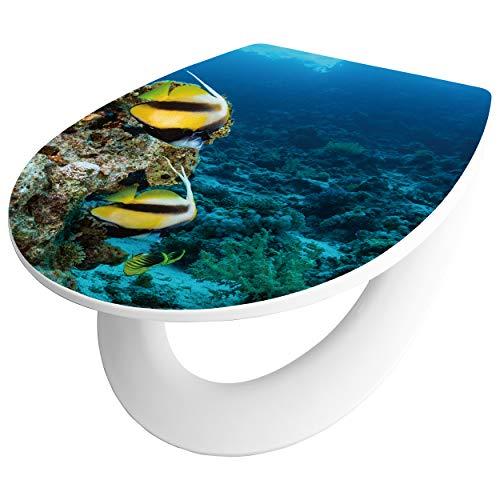 baliv 3D WC-Sitz Garabi | Toilettendeckel - robust und belastbar bis 200 kg