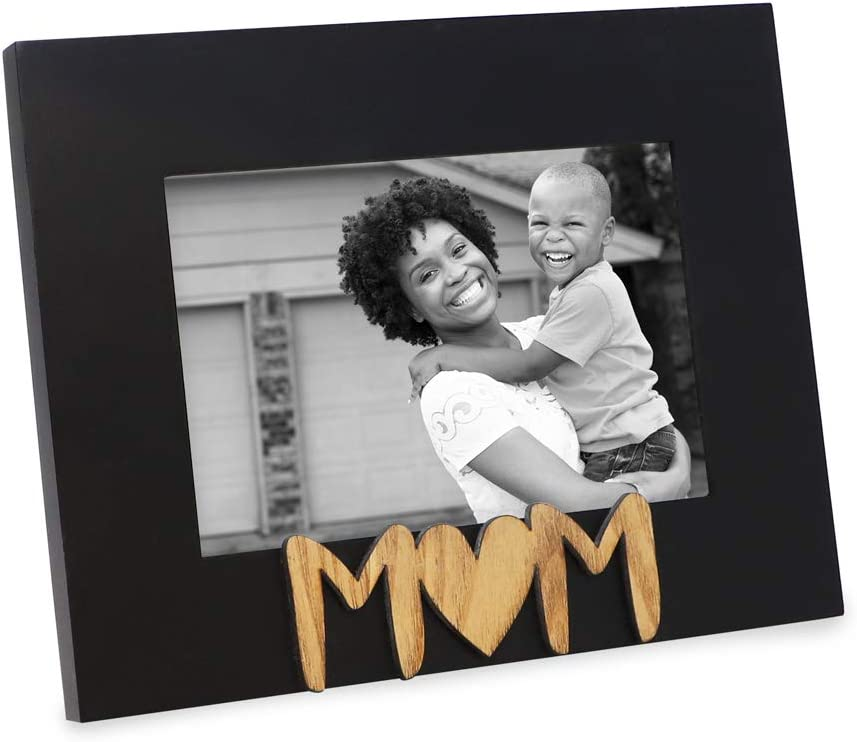 Isaac Jacobs Black Wood Sentiments Picture Frame 4x6 Ranking Max 67% OFF TOP10 inch Mom