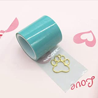 Craft Tape Seamless Sticky Paper Tape Traceless Tape for UV Resin Craft Charm Pendant Making Metal Craft