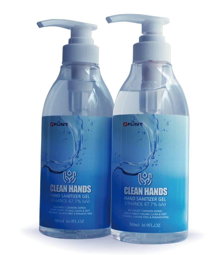 Flint Hygiene Vitamin E Infused Moisturizer Kansas City Mall Sanitizer Sale item Hand Pump-