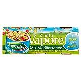 Valfrutta Mix Mediterraneo, Vegetali Misti Sottovuoto -3 Pezzi da 150 g, Totale: 450 g...