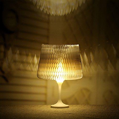 Lampe de table modulable NHSUNRAY Lumière réglable de nuit de contact de remplissage de LED, changement de forme,mini lampe de papier, lampes de chevet mignon, lampes de plancher, éclairage spécial