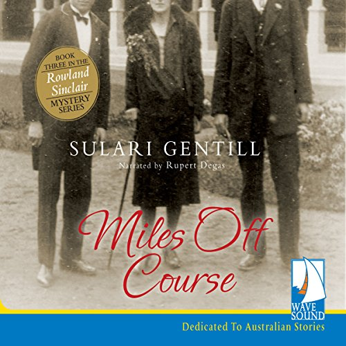 Miles off Course audiobook cover art