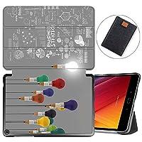 MAITTAO Verizon ASUS ZenPad Z10 ZT500KL Case/Zenpad 3S10 Z500KL, Slim Magentic Smart-Shell Stand Cover with Wake/Sleep for ASUS ZenPad Z10 9.7-Inch Tablet Sleeve Bag 2 in 1, Flowers & Leafs 1