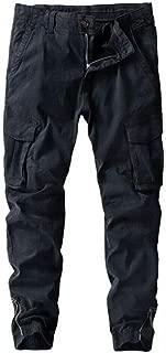 Janjunsi Men Cargo Pant Casual Multi-Pocket Overalls Combat Cotton Trousers Microelastic Joggers Pants