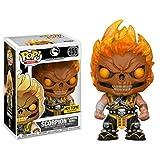 Funko Mortal Kombat X #255 Scorpion (Flaming Skull) Pop! Chibi...