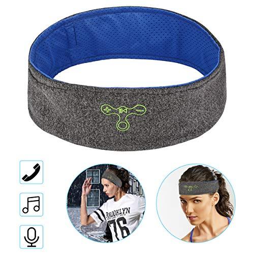 Schlaf Kopfhörer Ohrstöpsel CestMall Bluetooth Sport Stirnband Kopfhörer mit Ultradünnen HD Stereo Lautsprecher,Perfekt für Sport, Seitenschläfer, Flugreisen, Meditation und Entspannung